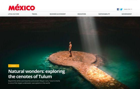 Mexico.com website thumbnail
