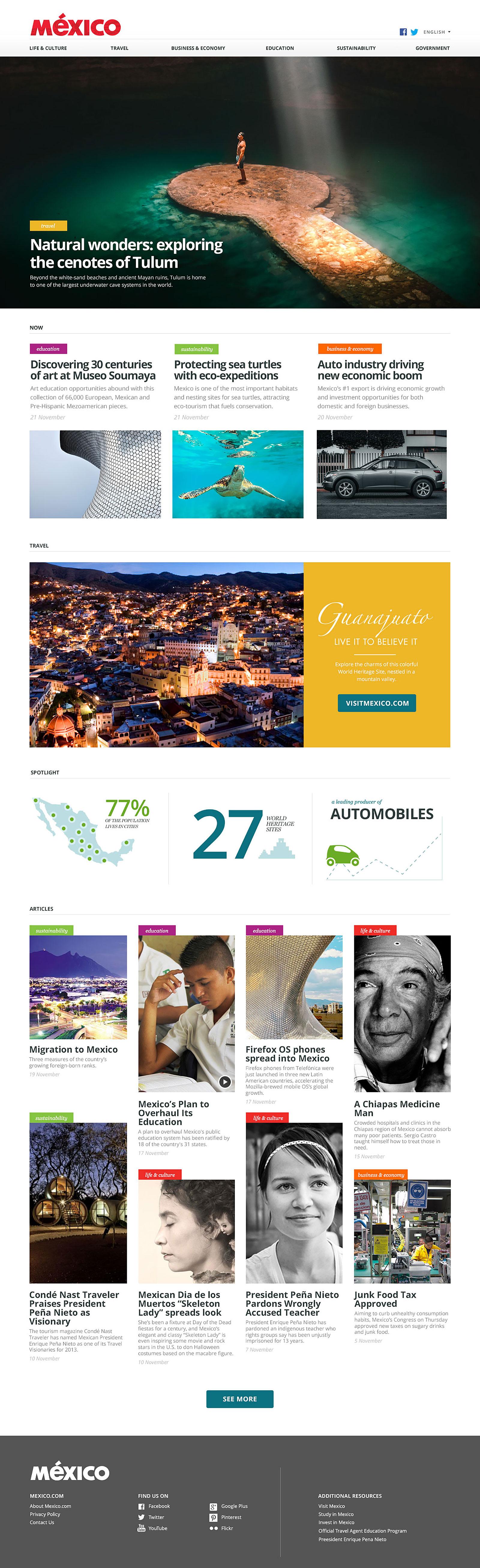 Mexico.com Home Page