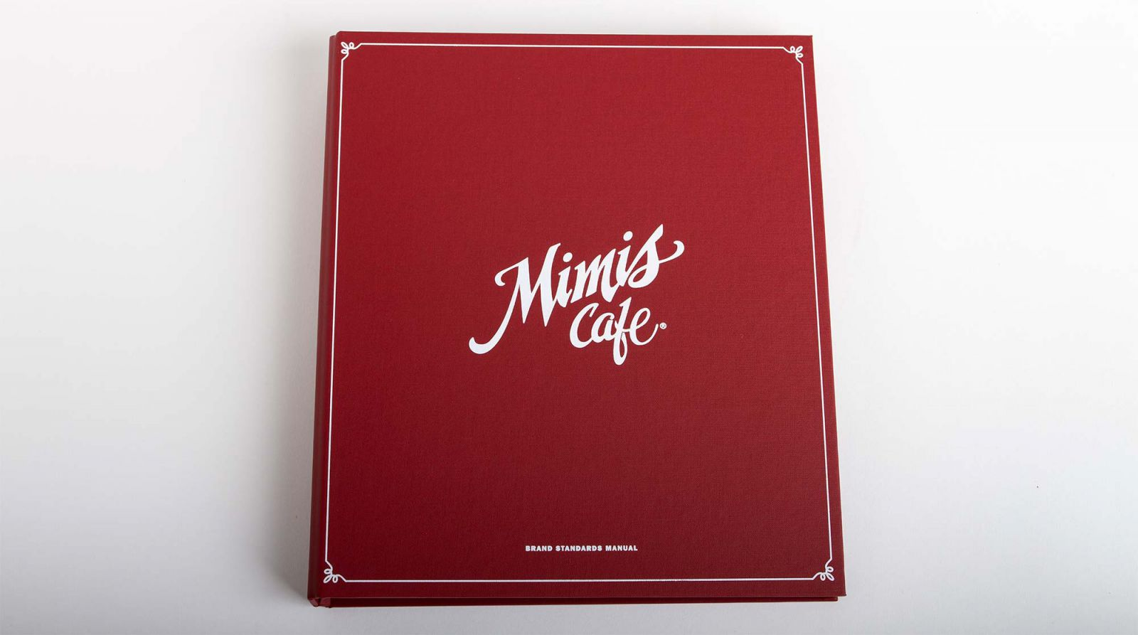 Cover of Mimi's Cafe Brand Standards Manual