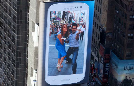 Samsung Times Square Activation