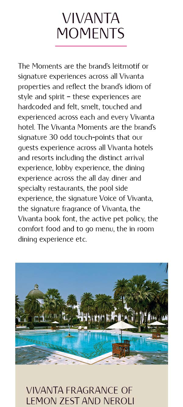 Vivanta mobile content page