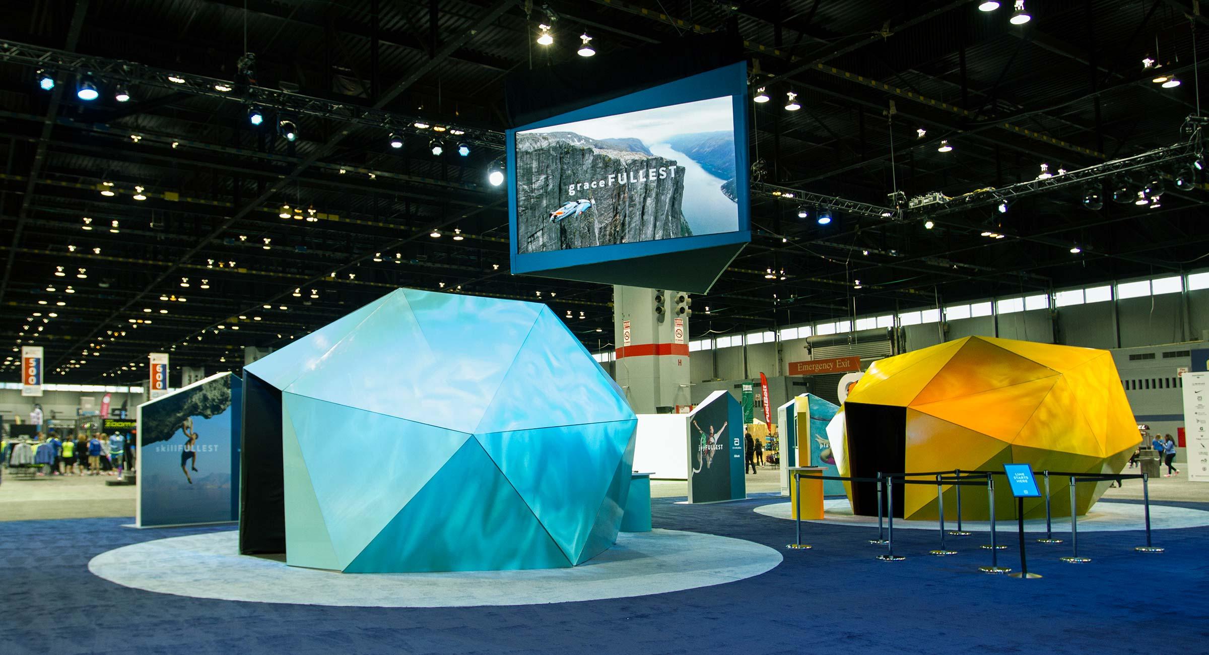 Abbott World Marathon Majors Interactive Pavilion