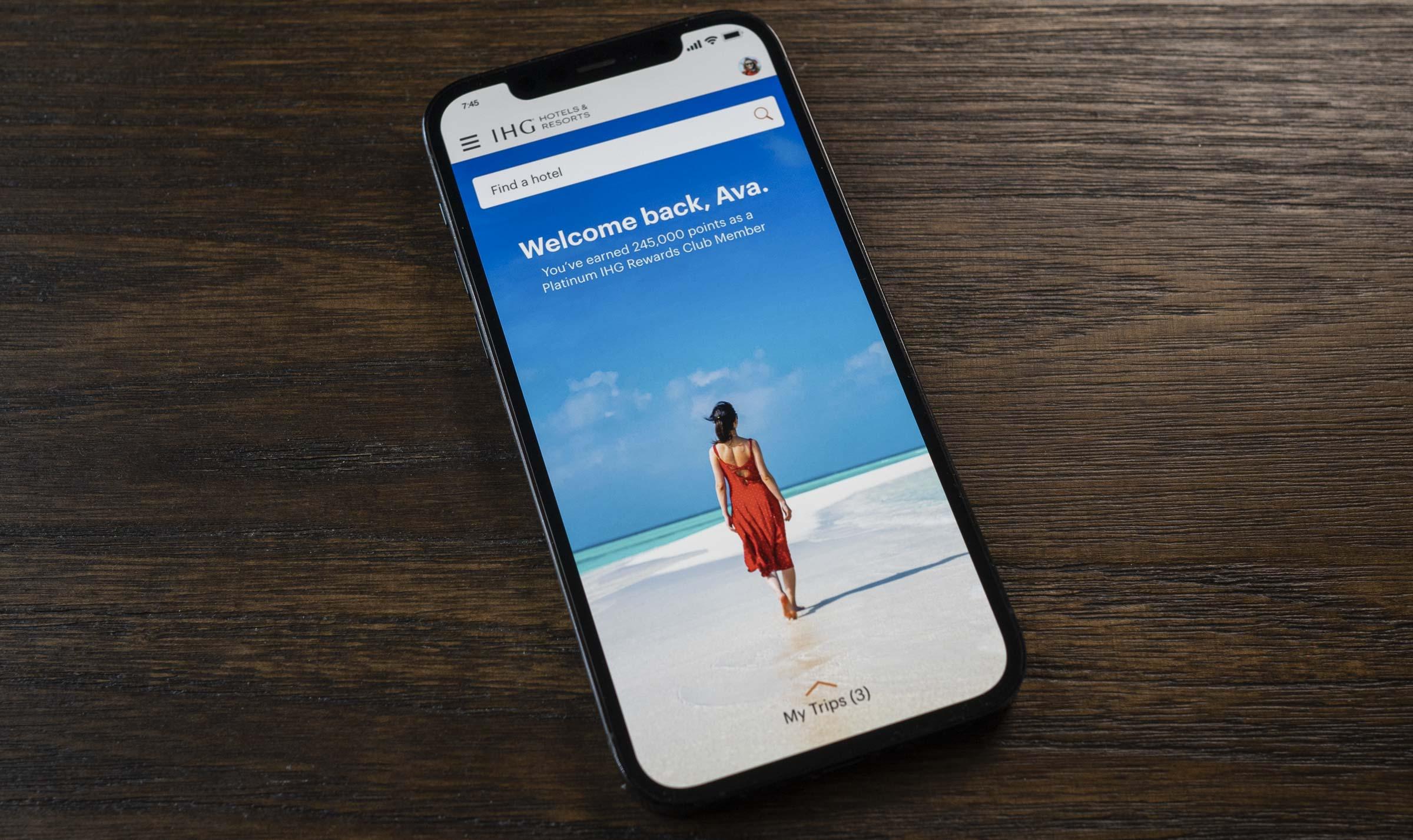 IHG Hotels & Resorts Mobile App